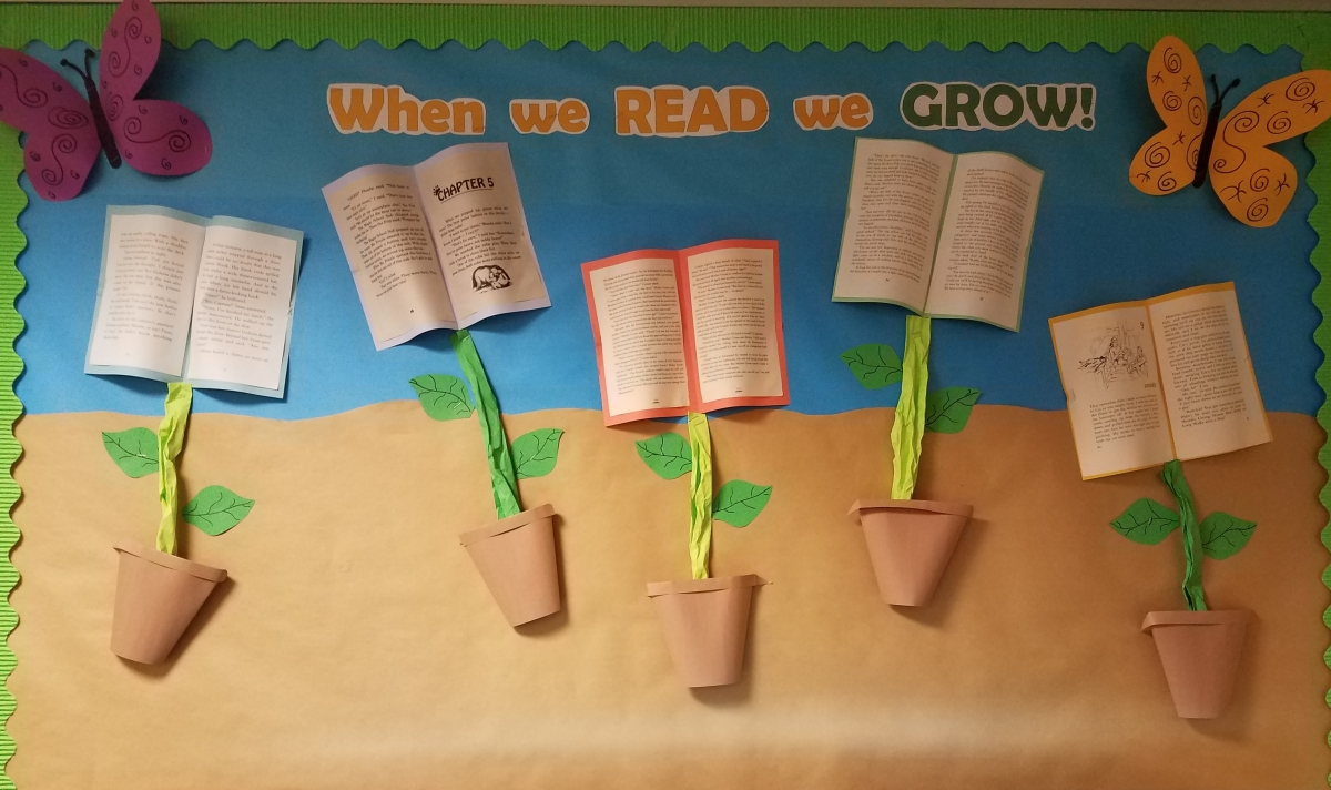 When we READ we GROW!