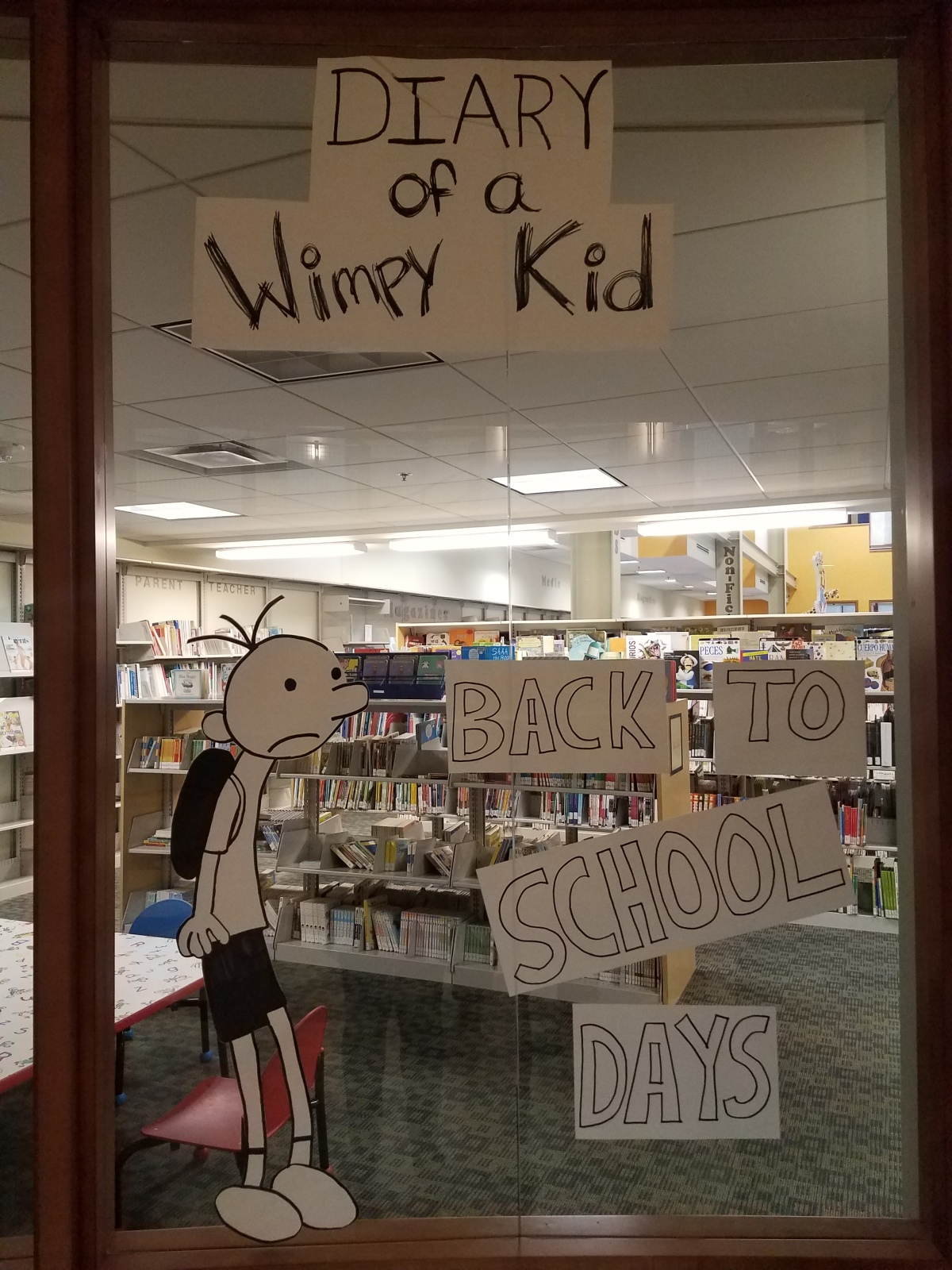 Diary of a Wimpy Kid: Back to School Days!