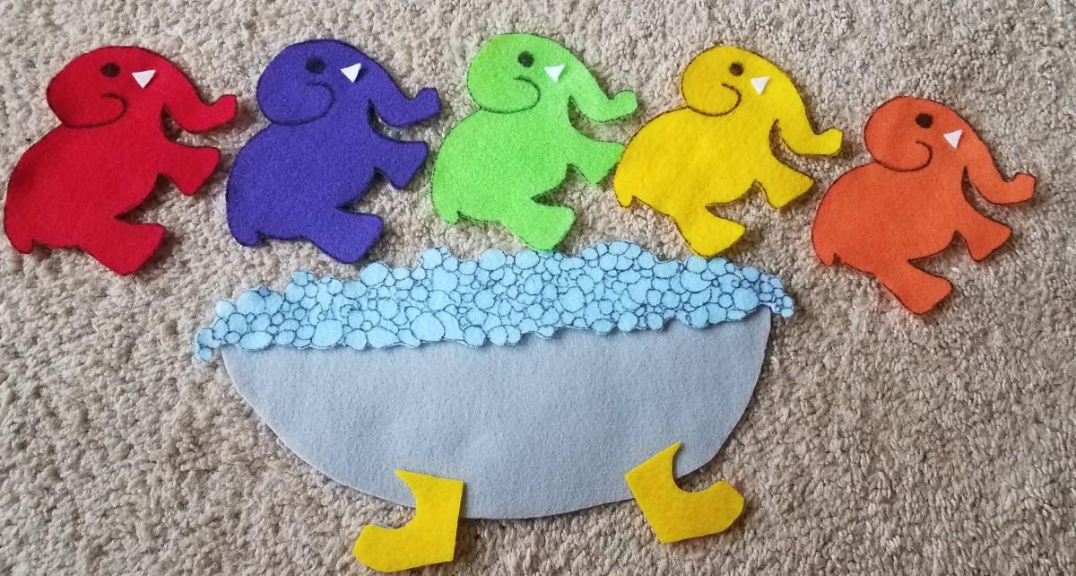 Five Elephants in aBathtub