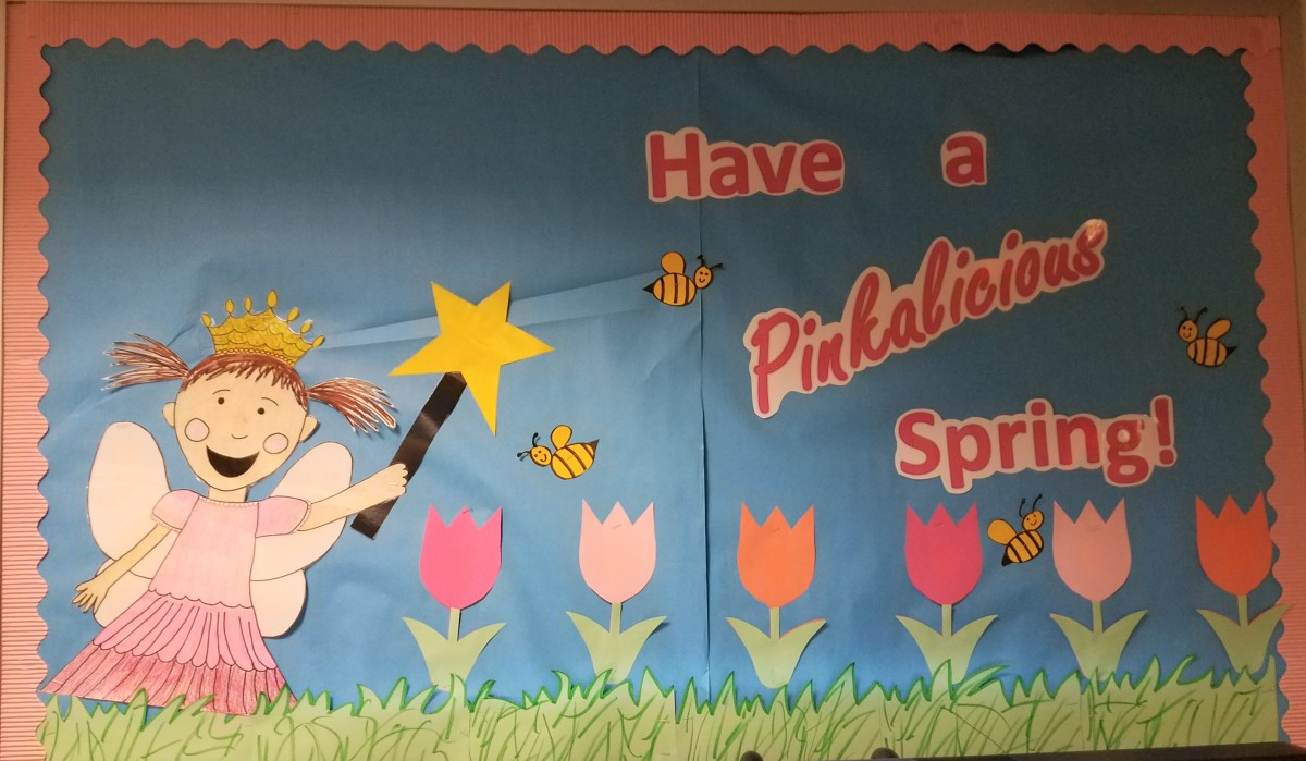 Have a PinkaliciousSpring!