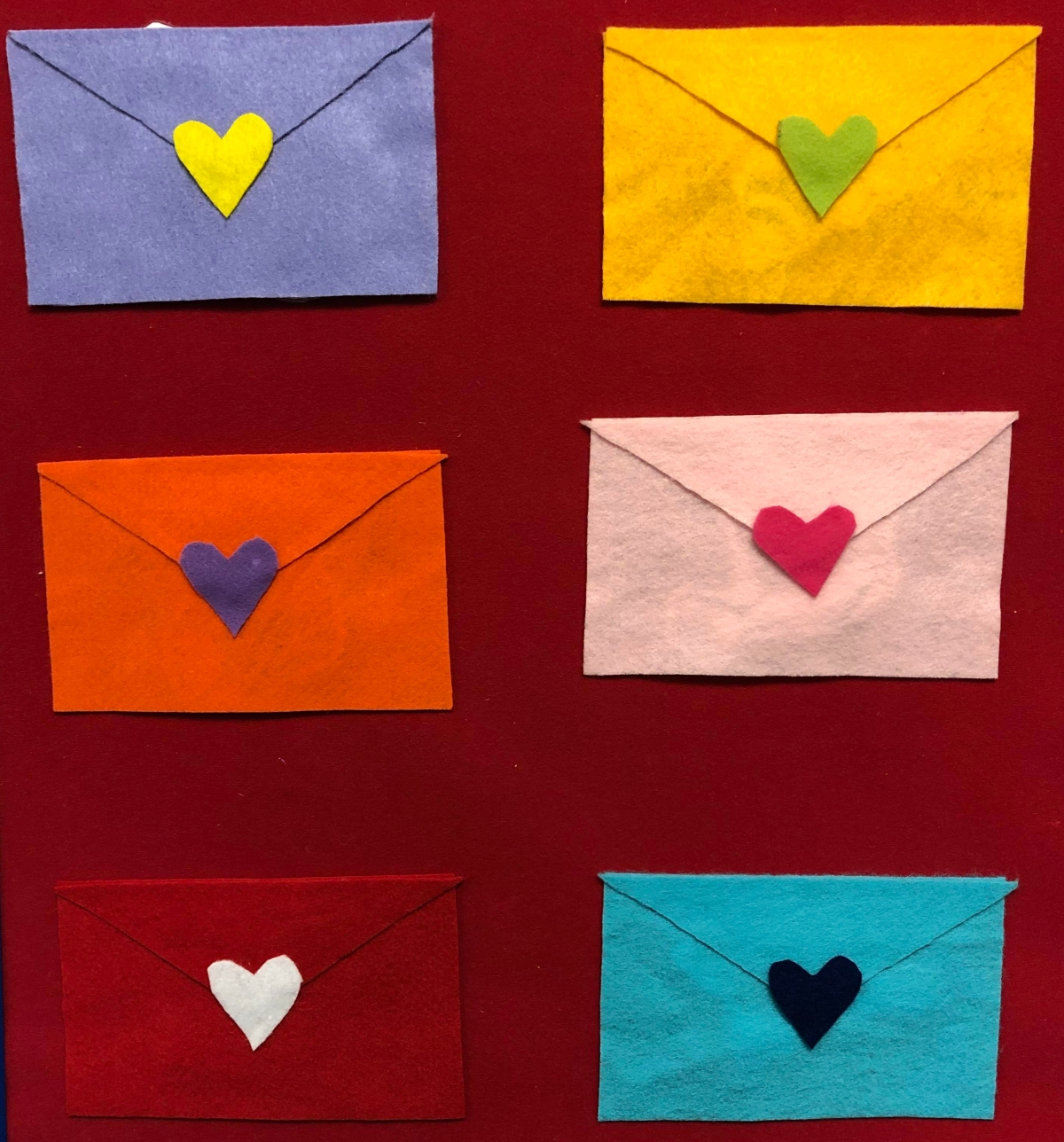 Six Little Valentines