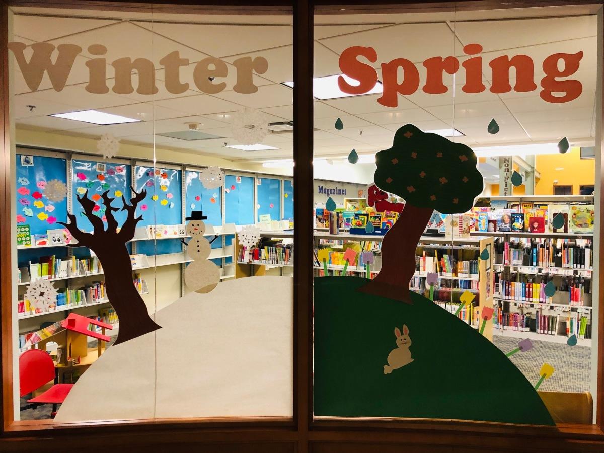 Seasons Window Display