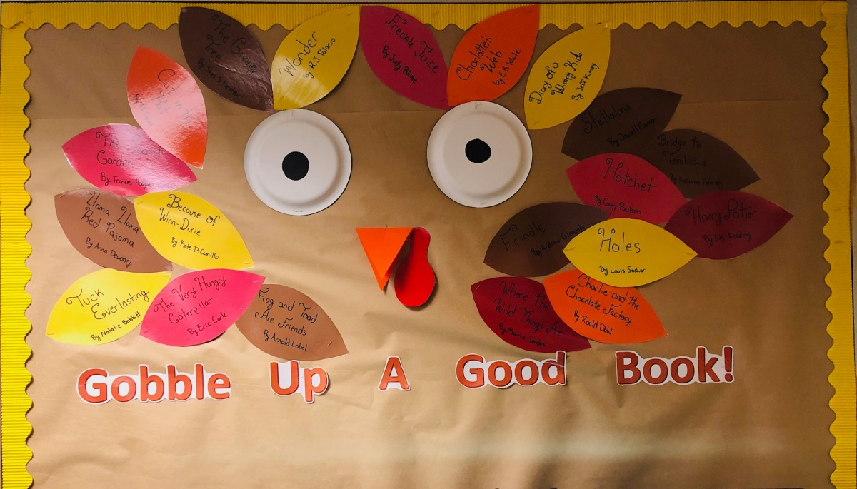 Gobble Up A Good Book!