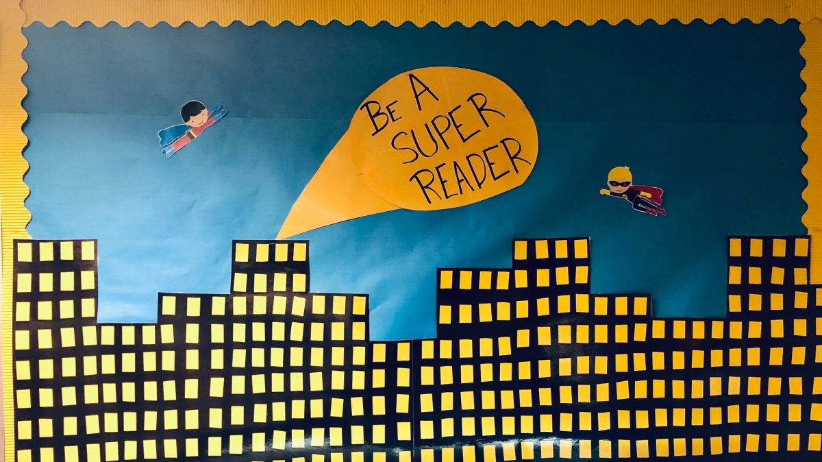 Be A Super Reader!