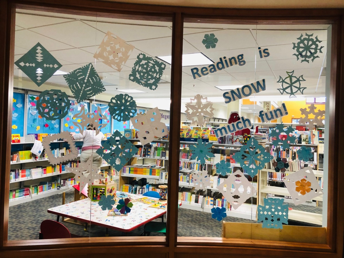 Reading is SNOW much fun!
