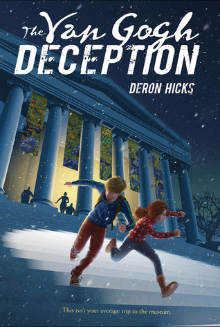 4-6th Grade Virtual Book Discussion: The Van Gogh Deception by Deron Hicks
