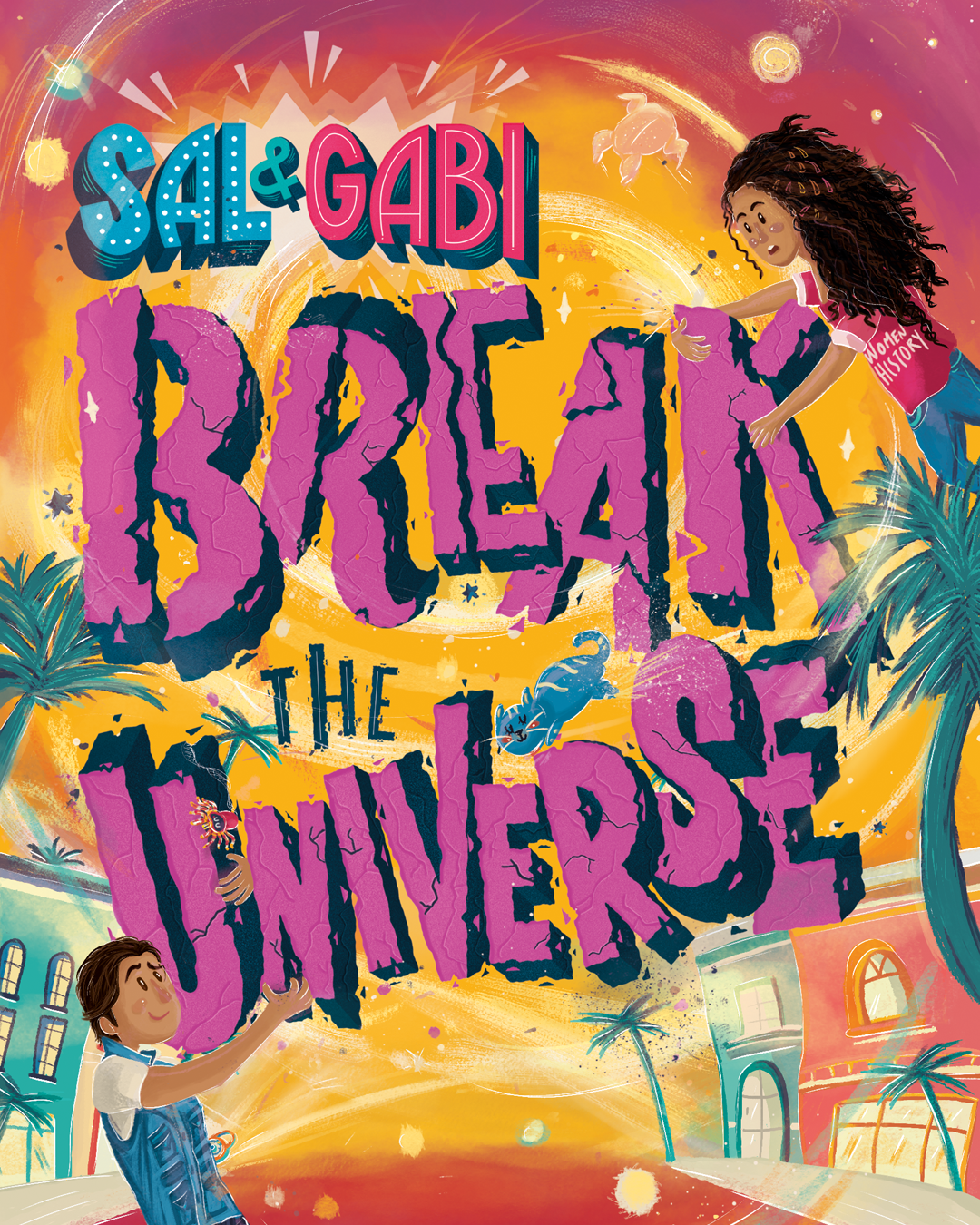 4-6th Grade Virtual Book Discussion: Sal & Gabi Break the Universe